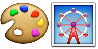 Guess Up Emoji Color Wheel