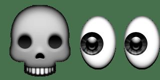 Guess Up Emoji Death Stare