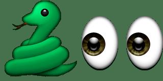 Guess Up Emoji Snake Eyes