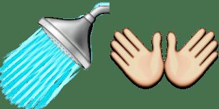 Guess Up Emoji Wash Hands