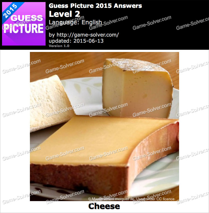 Guess Picture 2015 Level 2