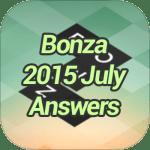 Bonza 2015 July Answers