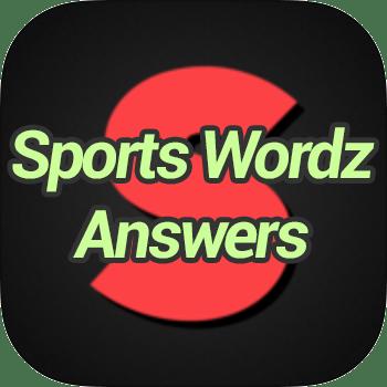 Sports Wordz Answers