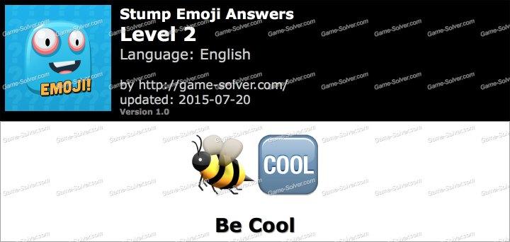 Stump Emoji Level 2