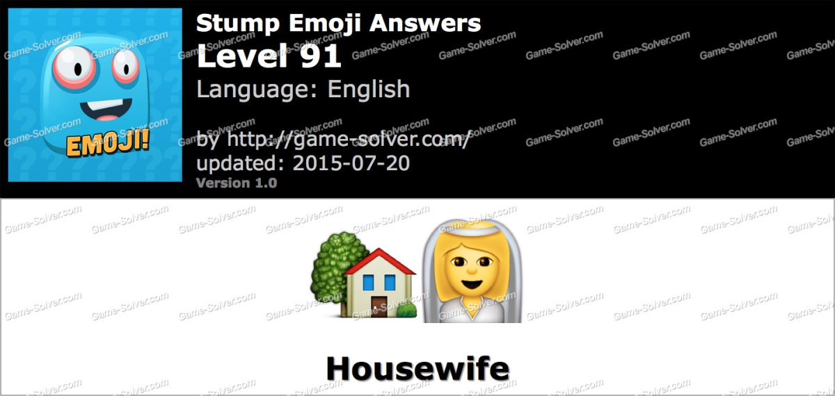 Stump Emoji Level 91