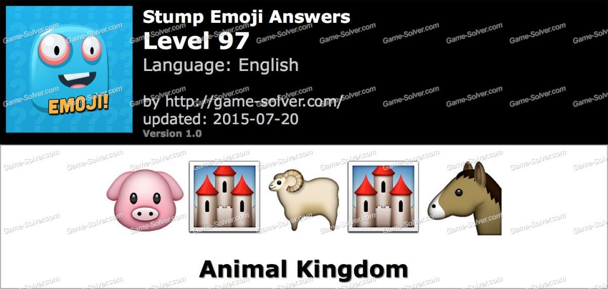Stump Emoji Level 97