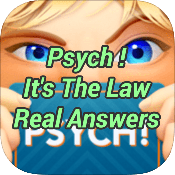 Psych Is The Law Real Answers