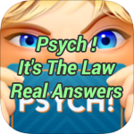 Psych Its The Law Real Answers