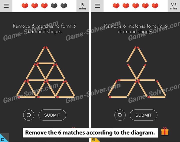 Tricky Test 2 Genius Brain Level 101 - Game Solver