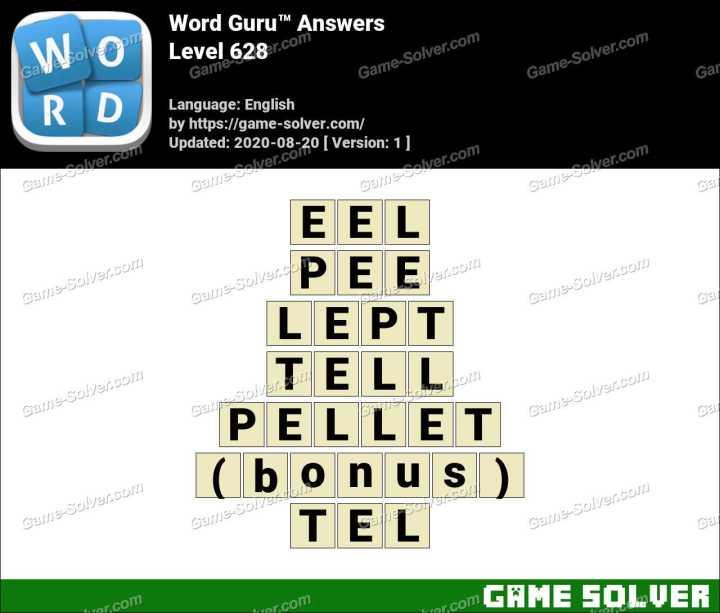 Word Guru Level 628 Answers