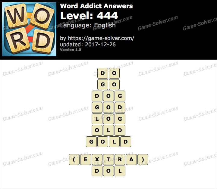 Word Addict Level 444 Answers
