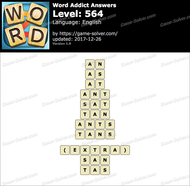 Word Addict Level 564 Answers