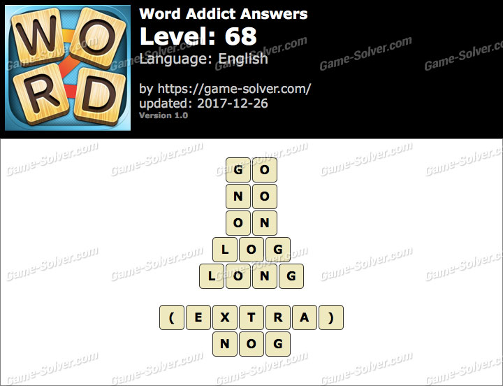 Word Addict Level 68 Answers