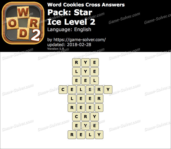 Word Cookies Cross Star-Ice Level 2 Answers