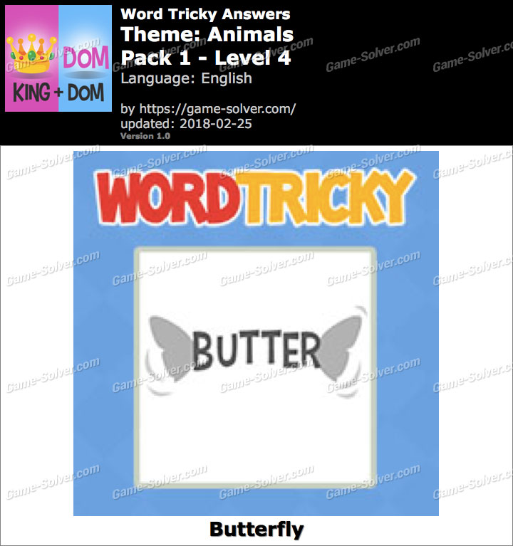Word Tricky Animals Pack 1-Level 4 Answers