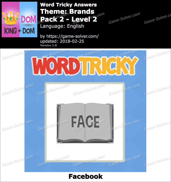Word Tricky Brands Pack 2-Level 2 Answers