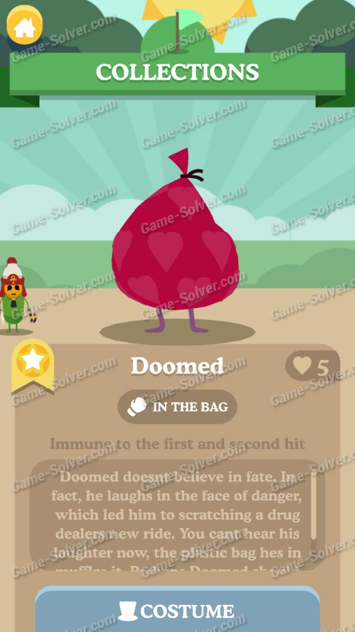 Dumb Ways To Die 3 Characters-Doomed