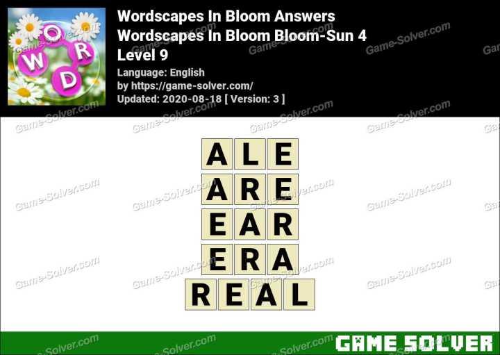 Wordscapes In Bloom Glow-Streaks 9 Answers