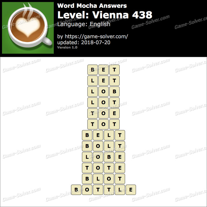 Word Mocha Vienna 438 Answers