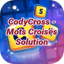 CodyCross Mots Croises Solution