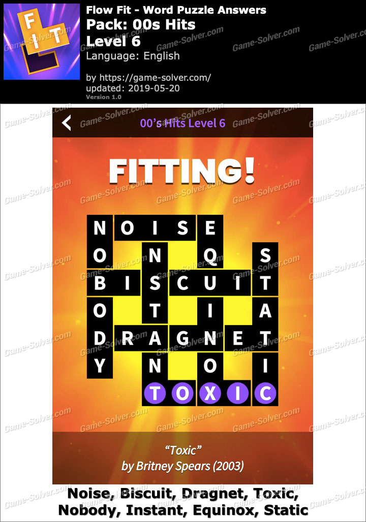 Flow Fit 00s Hits-Level 6 Answers