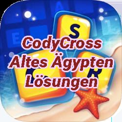 CodyCross Kreuzworträtsel Altes Ägypten Lösungen
