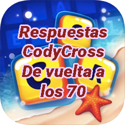 Respuestas CodyCross Crucigramas De vuelta a los 70