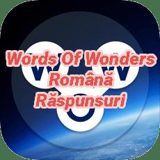 Words Of Wonders Crossword Answers Romanian