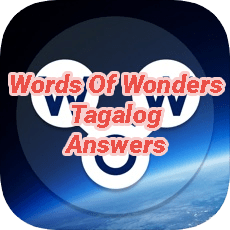 Words Of Wonders Answers Tagalog