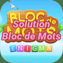 Solution Bloc de Mots