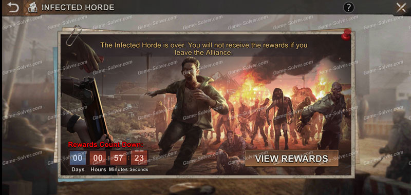 State of Survival Infected Horde 1