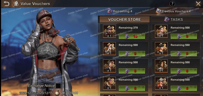 State of Survival Value Vouchers Event 2