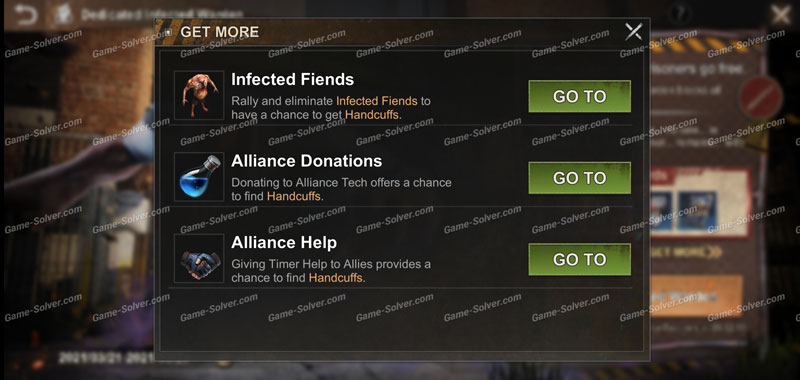 State of Survival Dedicated Infected Warden Handcuffs