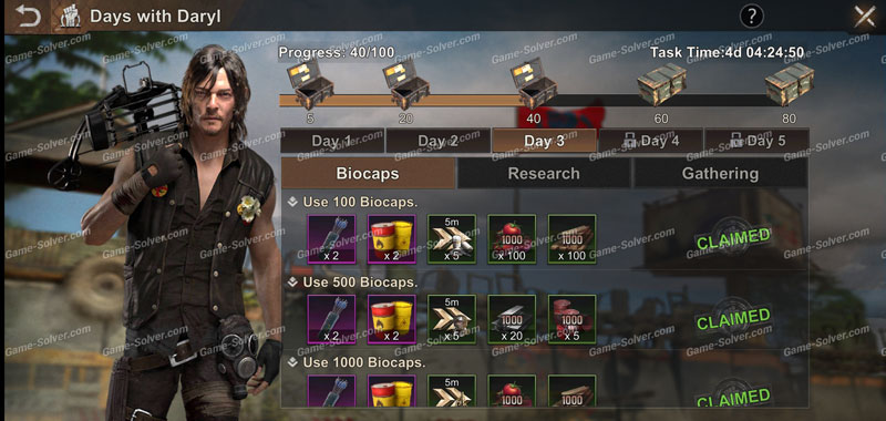 State of Survival Days with Daryl