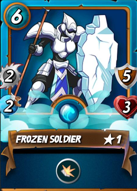 Splinterlands Frozen Soldier
