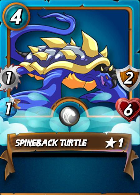 Splinterlands Spineback Turtle