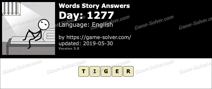 Words Story Day 1277 Answers
