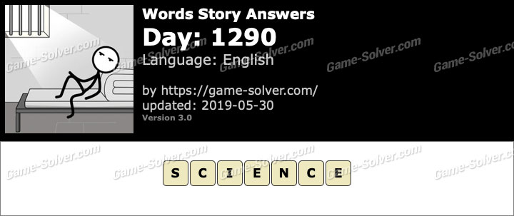 Words Story Day 1290 Answers