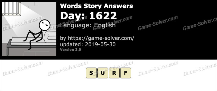 Words Story Day 1622 Answers