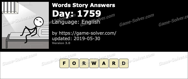 Words Story Day 1759 Answers