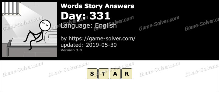 Words Story Day 331 Answers