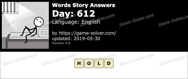 Words Story Day 612 Answers