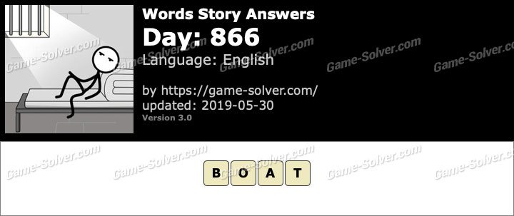 Words Story Day 866 Answers