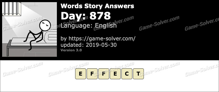 Words Story Day 878 Answers