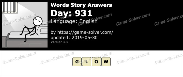 Words Story Day 931 Answers