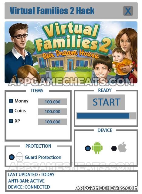Virtual Families 2 Cheats Unlimited Money : virtual, families, cheats, unlimited, money, Virtual, Families, Cheats, Money,, Coins, AppGameCheats.com_comprehensive