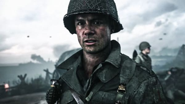 Josh Duhamel Call of Duty WWII 2017