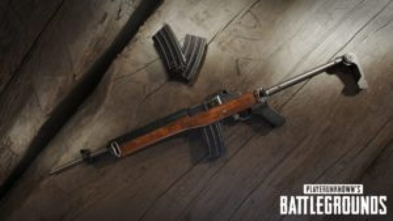 PlayerUnknown's Battlegrounds - Mini-14 arme sniper weapons mini 14