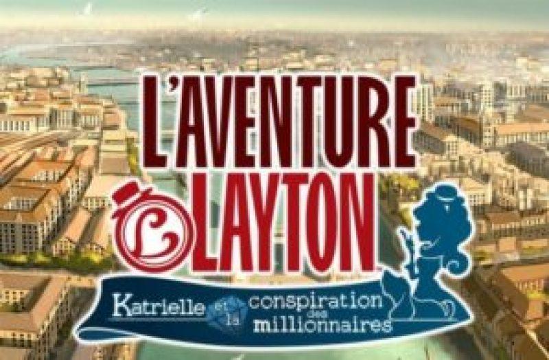 Calendrier des sorties jeux vidéo sur Wii U, Ps Vita et Mobile en Juillet 2017 L'aventure Layton Katrielle