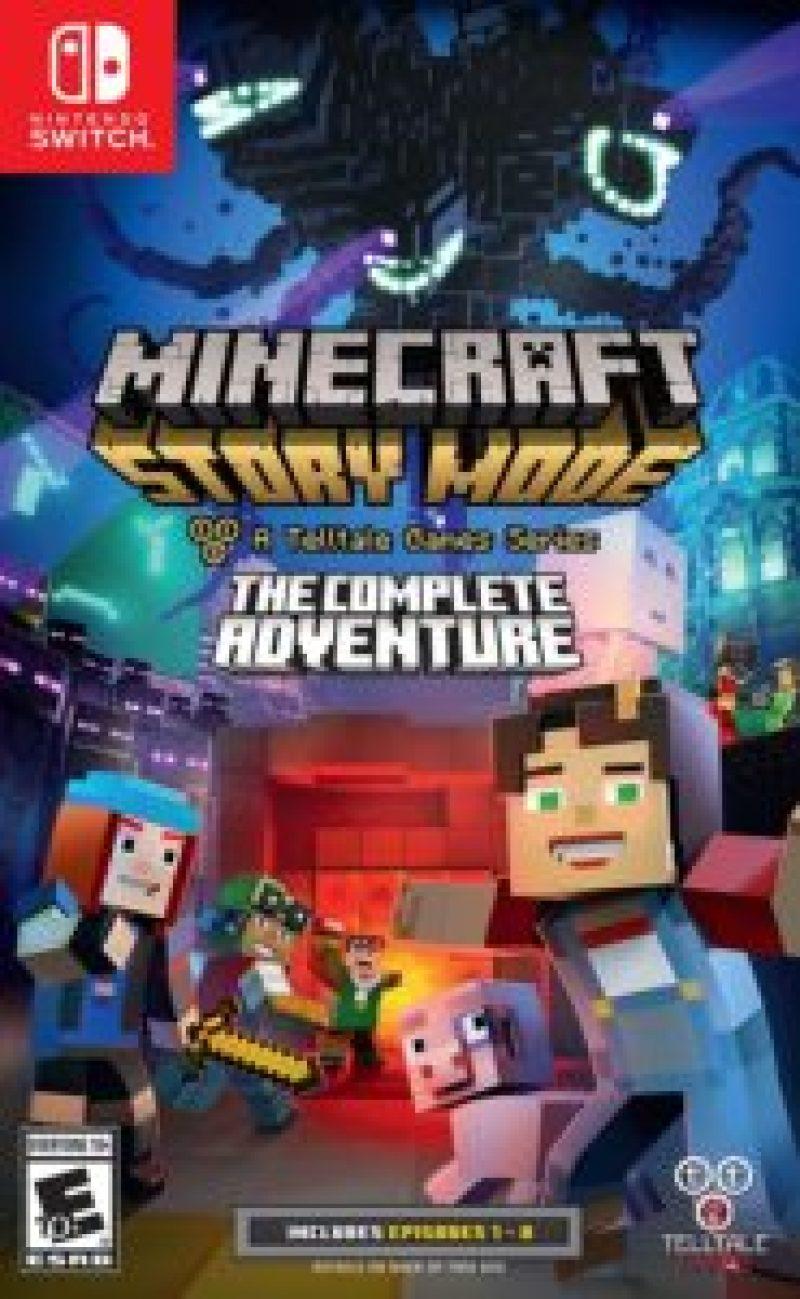 Toutes les sorties jeux sur Nintendo Switch pour Juillet 2017 Minecraft Story Mode